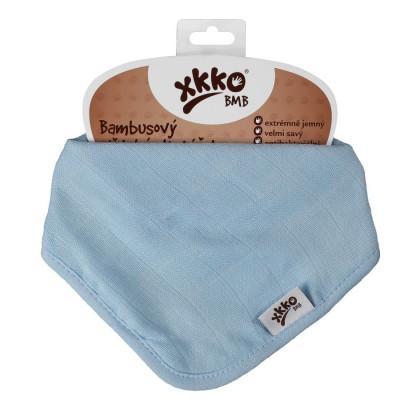 Bambusová šatka XKKO BMB - Baby Blue