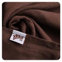 Bambusové plienky XKKO BMB 70x70 - Magenta Choco MIX 10x3ks VO bal.