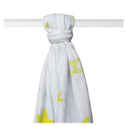 Bambusová osuška XKKO BMB 90x100 - Lemon Stars