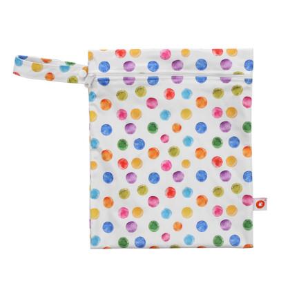 Nepremokavé vrecko XKKO Veľkosť S  - Watercolour Polka Dots
