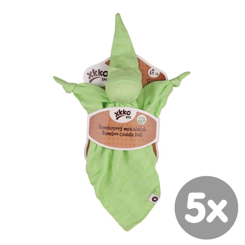 Bambusový maznáčik XKKO BMB - Lime 5x1ks VO bal.
