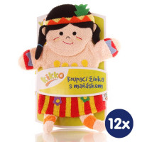 XKKO Žinka s bábkou (BA) - Malá indiánka 12x1ks VO bal.