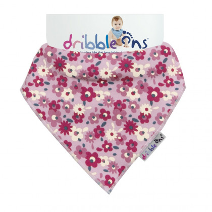 Dribble Ons Designer Floral Ditsy