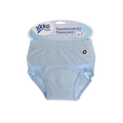 Tréningové nohavičky XKKO Organic - Baby Blue