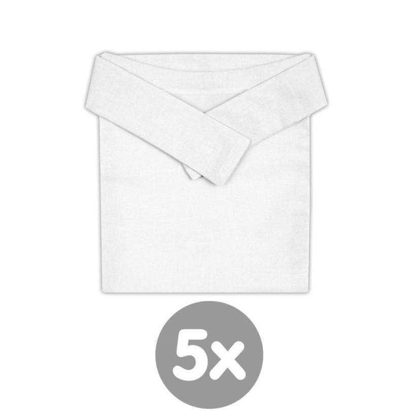 XKKO Ortopedické nohavičky Biele - 5x1ks VO bal.