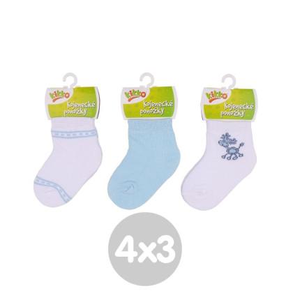 Ponožky KIKKO Classic - Typ 37 12 párov