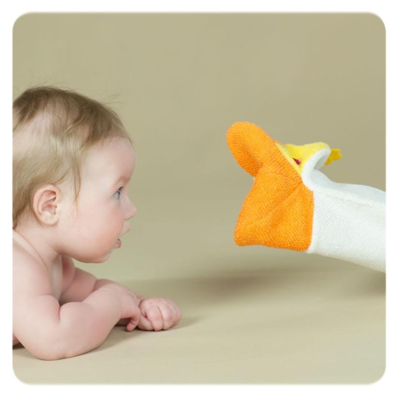 XKKO Žinka s bábkou (PE) - Kuřátko