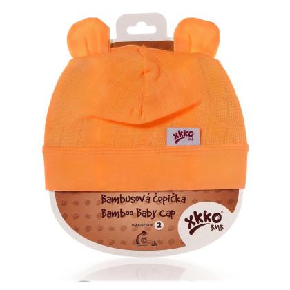 Bambusová čiapočka XKKO BMB - Orange