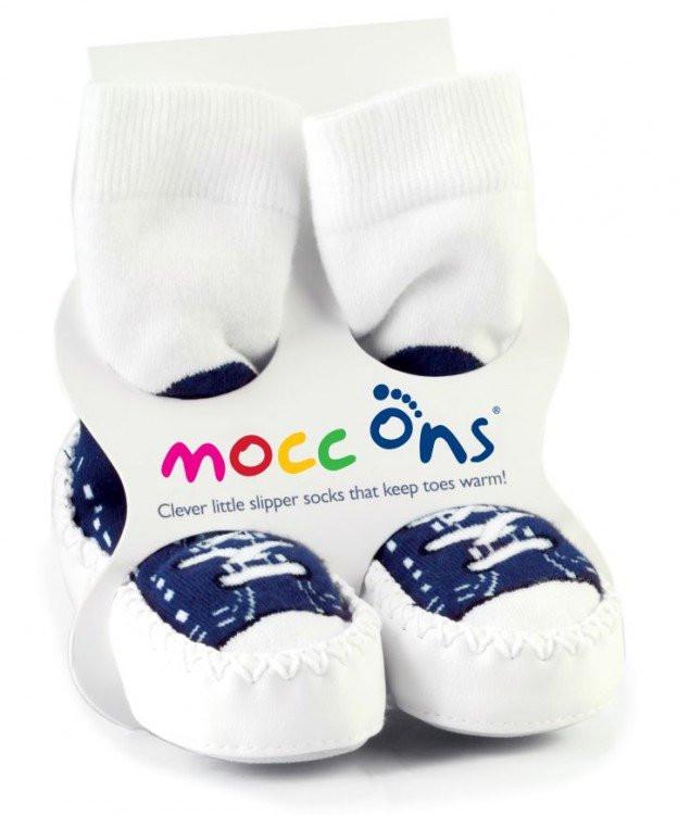 Baleríny Mocc Ons - Sneakers Navy