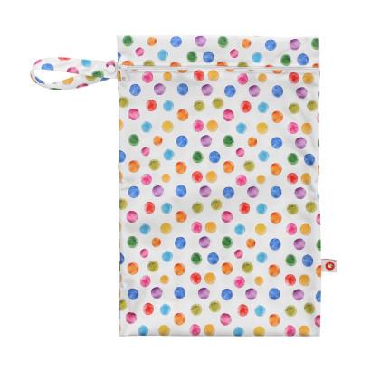 Nepremokavé vrecko XKKO Veľkosť M - Watercolour Polka Dots