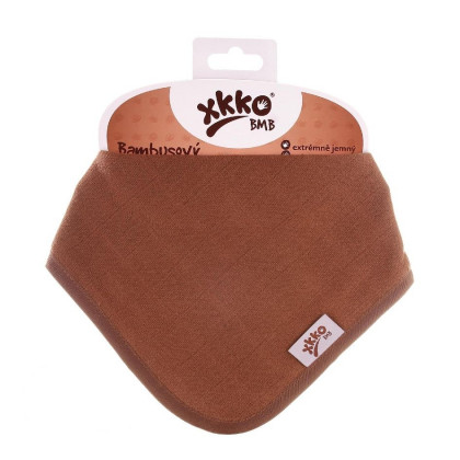 Bambusová šatka XKKO BMB - Milk Choco