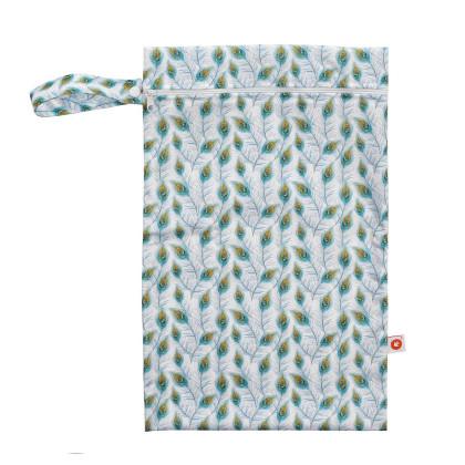 Nepremokavé vrecko XKKO Veľkosť M - Peacock Feathers