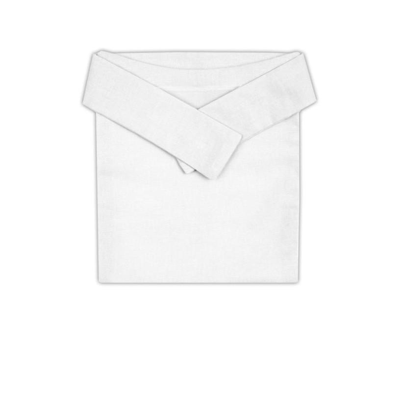 XKKO Ortopedické nohavičky Biele