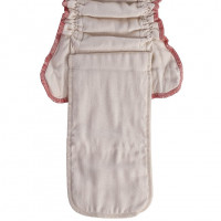Plienkové nohavičky XKKO Organic - Natural Veľkosť M