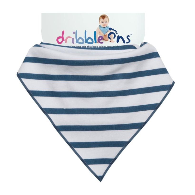 Dribble Ons Designer - Nautical Stripes 3x1ks VO bal.