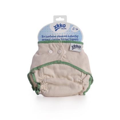 Plienkové nohavičky XKKO Organic - Natural Veľkosť L