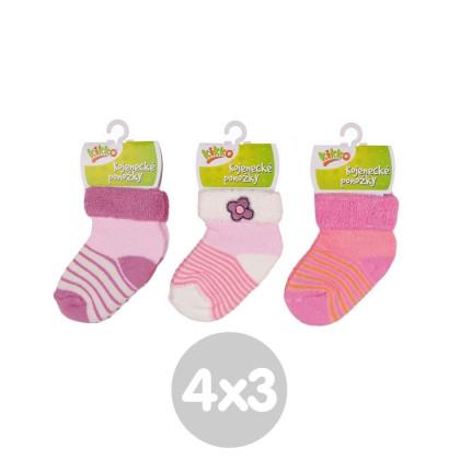 Ponožky KIKKO Classic - Typ 39 12 párov