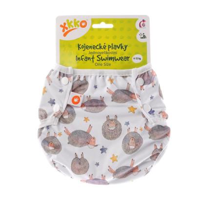 Jednoveľkostné dojčenské plavky XKKO - Dreamy Sheeps