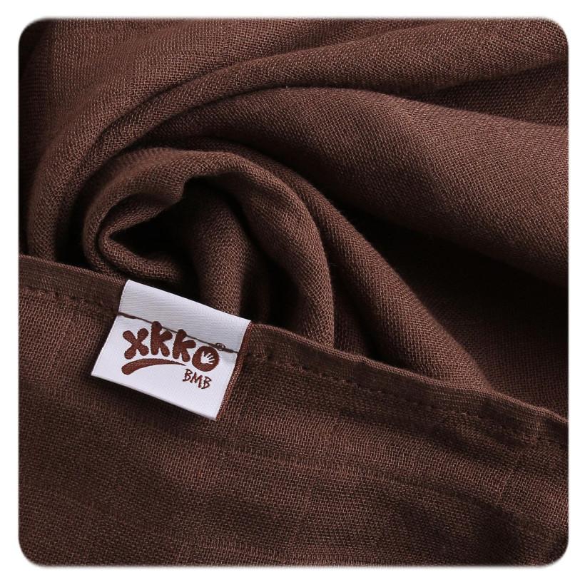 Bambusové plienky XKKO BMB 70x70 - Cyan Choco MIX 10x3ks VO bal.