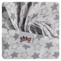 Bambusové plienky XKKO BMB 70x70 - Little Stars Silver MIX 3ks