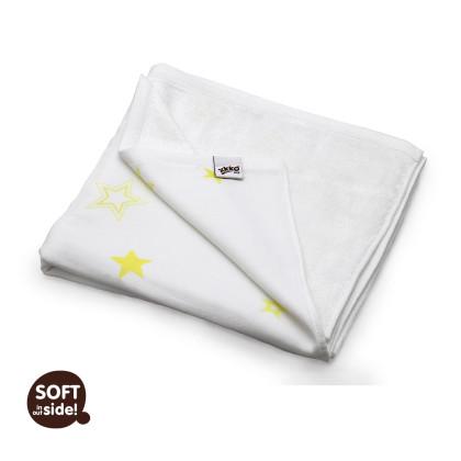 Bambusová deka XKKO BMB 130x70 - Lemon Stars