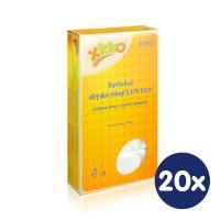 Vysokogramážné detské plienky XKKO LUX ECO 70x70 - Natural 20x10ks Velkoobchodní balení