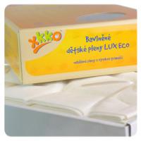 Vysokogramážné detské plienky XKKO LUX ECO 70x70 - Natural
