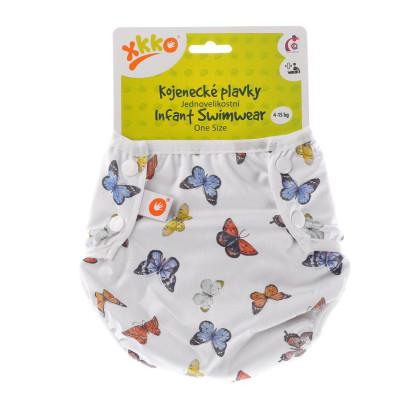 Jednoveľkostné dojčenské plavky XKKO - Butterflies